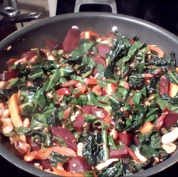 Beetroot Stirfry